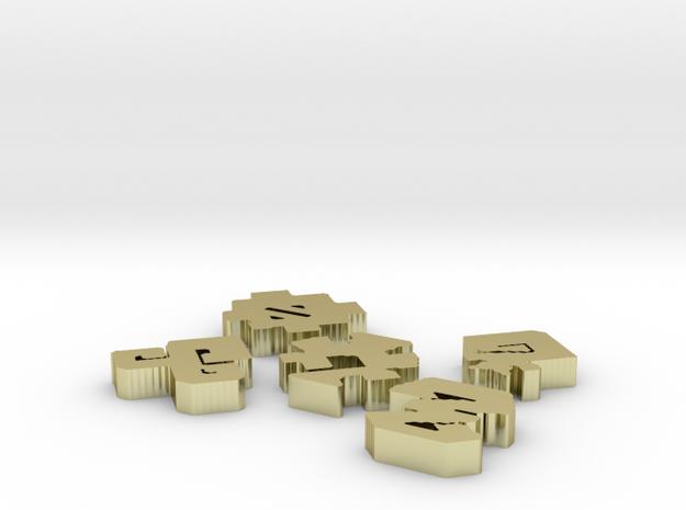 Emblems 3d printed