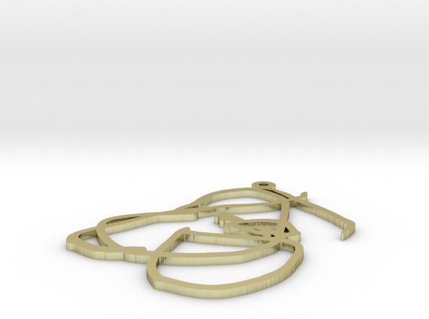 zak pendant 2 3d printed