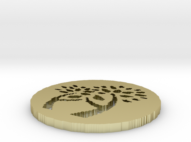 family tree disc 3d printed