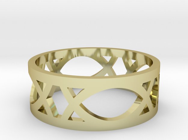 Art Deco Styled Ring  3d printed