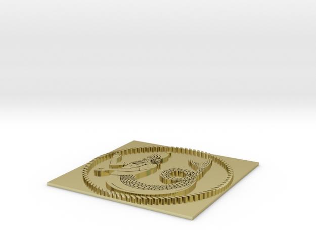 EOD Obverse 3d printed