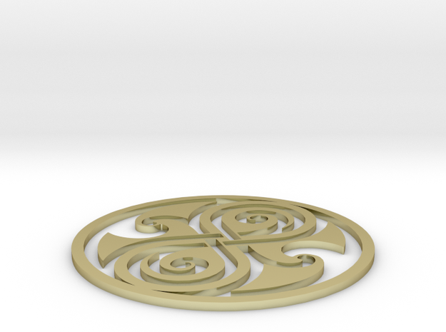 Rassilon Seal - 2 3d printed