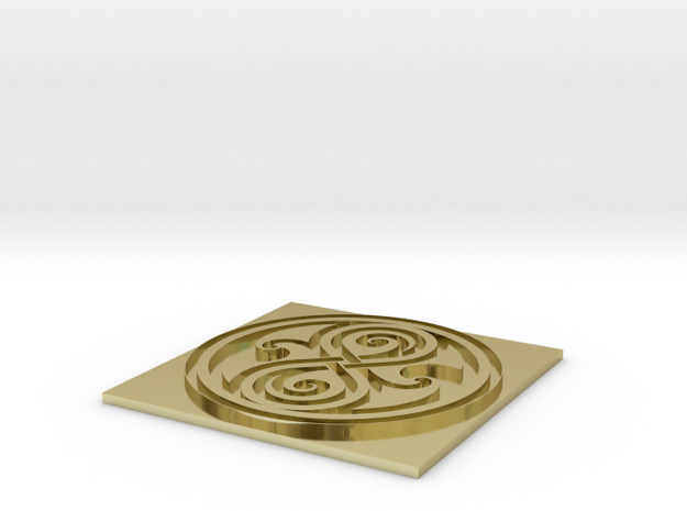 Rassilon Seal - 1 3d printed