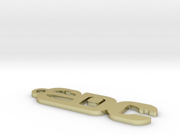 edcf-keychain-mk1 3d printed