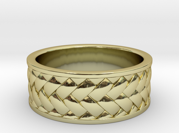 Woven Ring V2 3d printed