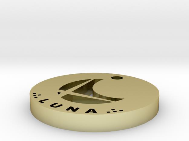 Luna Necklace 3d printed
