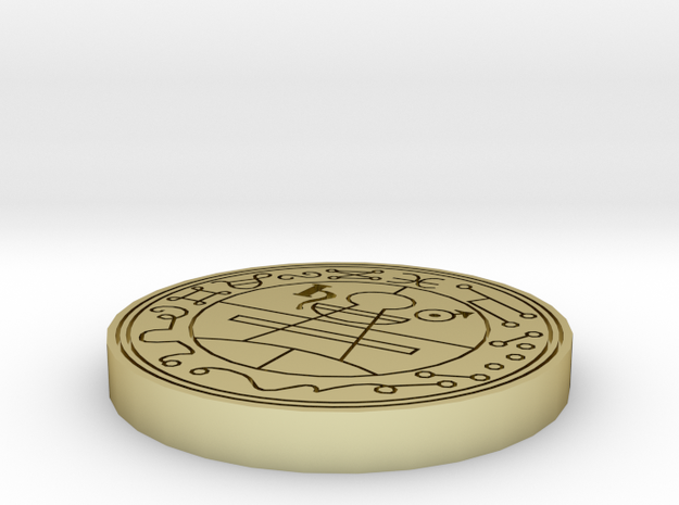 Seal of Solomon 28mm base 3d printed