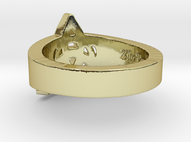 """""""Charmed"""" Inspired Ring Ring Size 7 3d printed"""