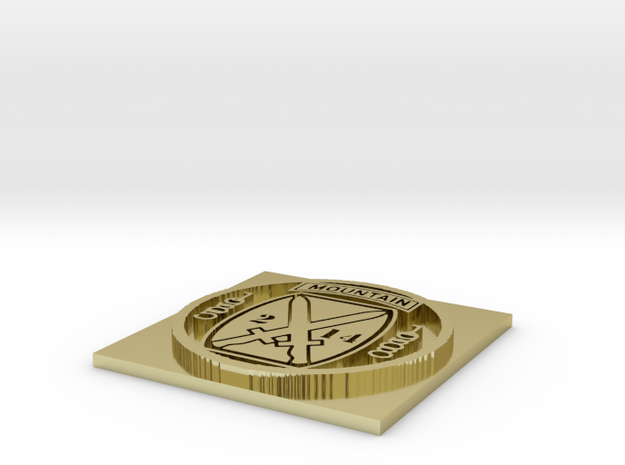 coin3 3d printed