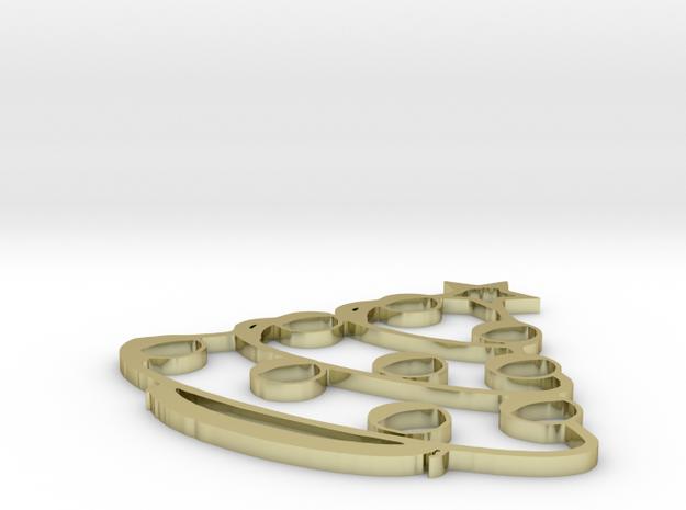 X-mas Tree Pendant 3d printed