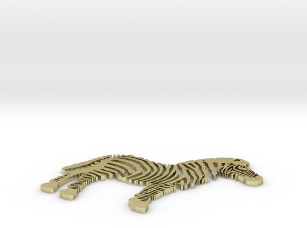 Zen the Zebra 3d printed