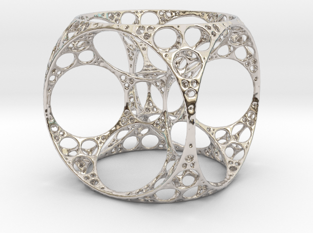 Apollonian Cube Small 3d printed