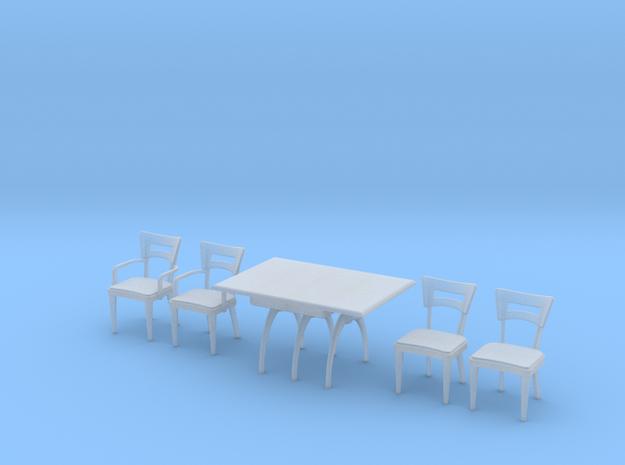 1:48 Moderne Dining Set 3d printed