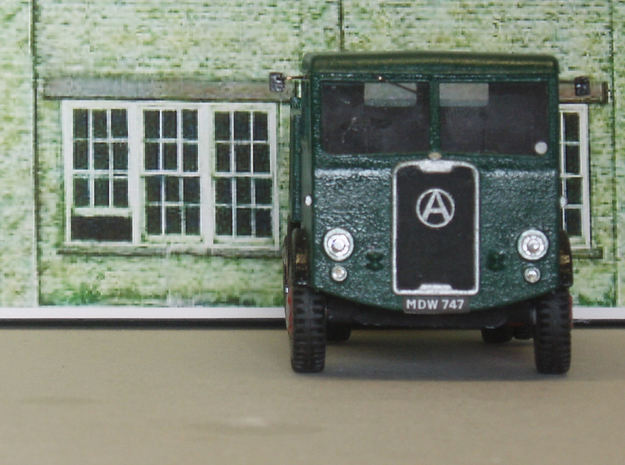 1:43 Atkinson c1950 SWB Cab&Chassis (2 parts) 3d printed