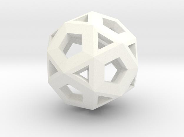 Logic Hypercube in White Strong & Flexible Polished