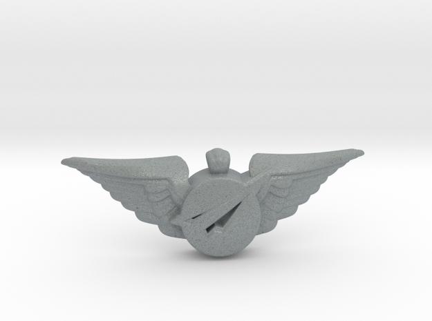 Big Imagination Crew Wings in Polished Metallic Plastic