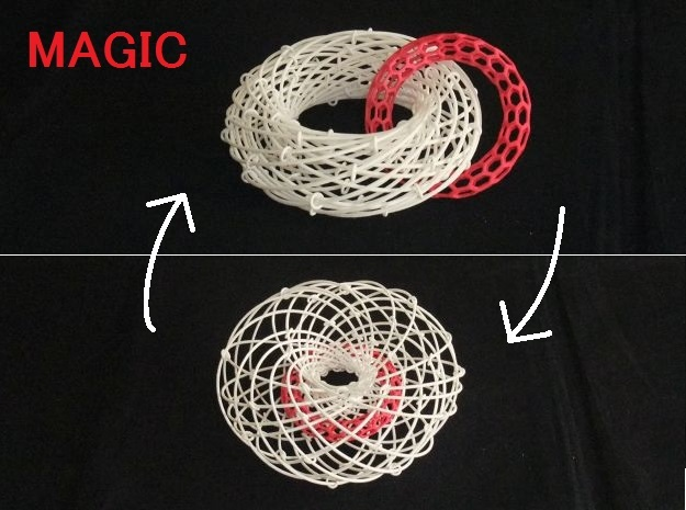 Torus Magic with Ring 1 in White Strong & Flexible