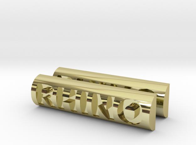 RHINO V5 LOCK BUTTON ONLY X 2 3d printed