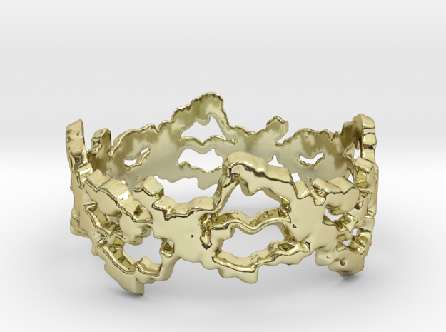 Troubled Mind Ring Size 7 3d printed