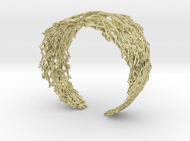 Fractal Snowflake Bracelet  3d printed