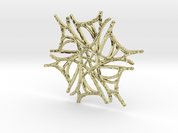 :Nature Dance V: Pendant 3d printed