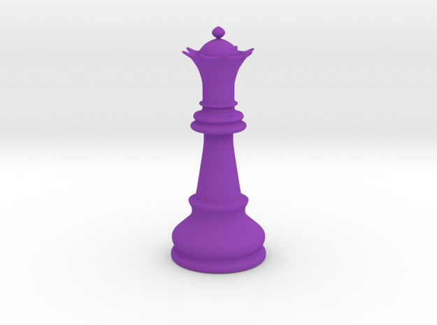 Queen (Chess) 3d printed