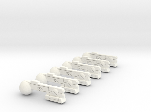 Troop Compartment SMG Set Of 6 3d printed