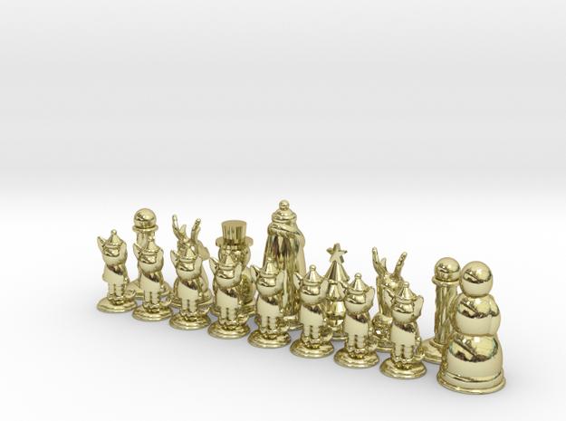 Chess365-Green Half 3d printed