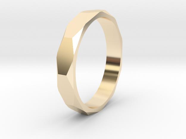beveled ring