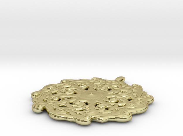 Vortex-1 in 18K Gold Plated