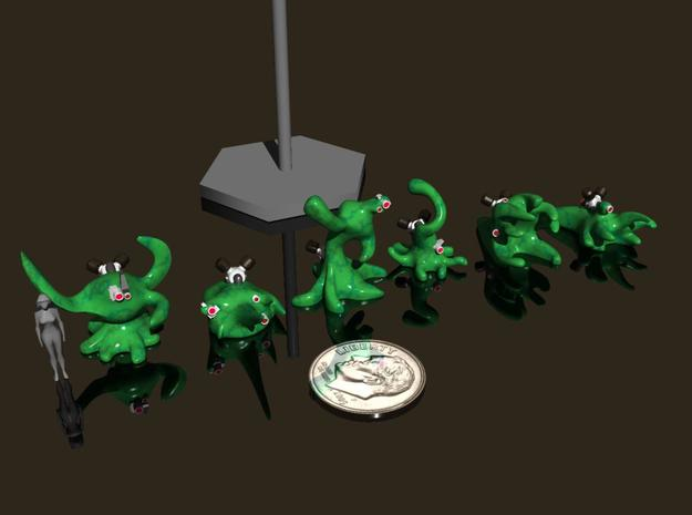15mm Nanomorph Soldiers - Melee Poses 3d printed
