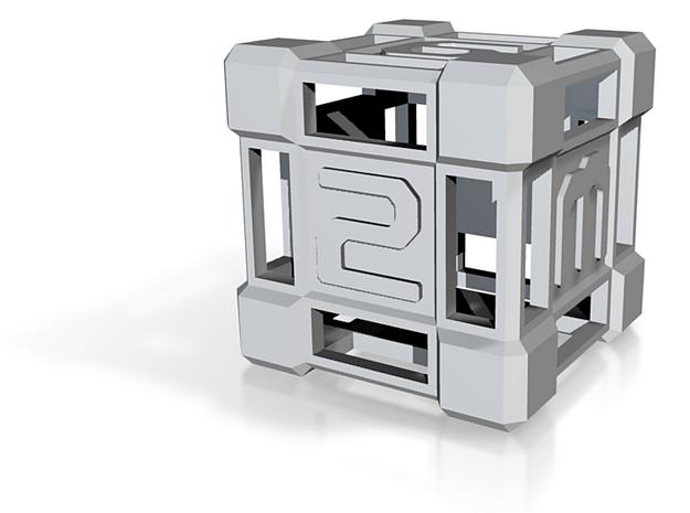 D6 SpaceFridge 3d printed