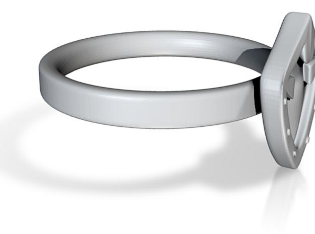 Aegis Ring 3d printed