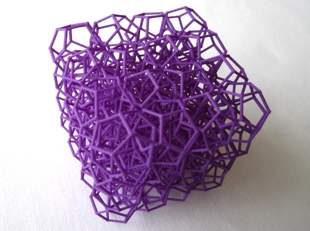 Dod'net in Purple Processed Versatile Plastic