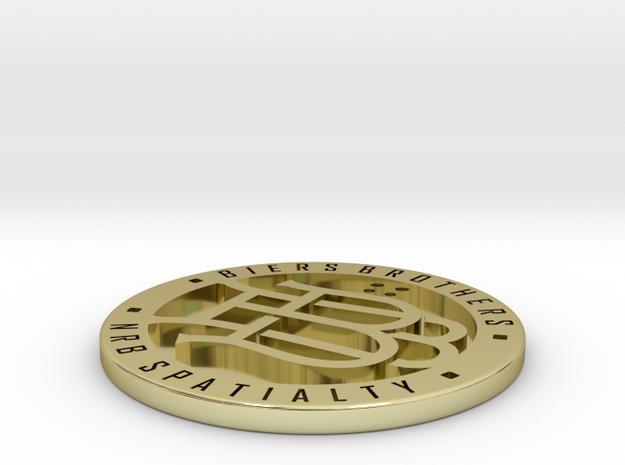 Biers Brothers Medallion 3d printed