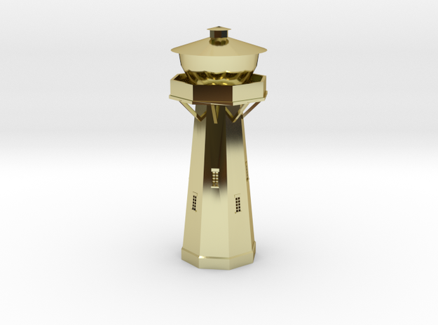 Z Scale European Water Tower 3d printed