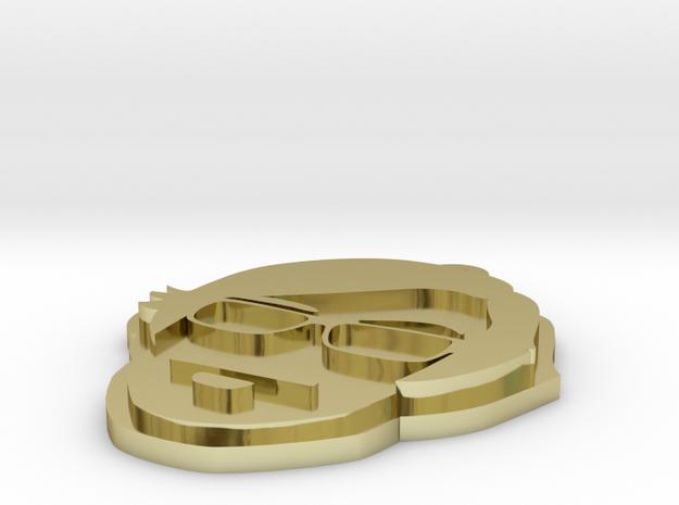 Stefan Braunstein Logo Pendant 3d printed