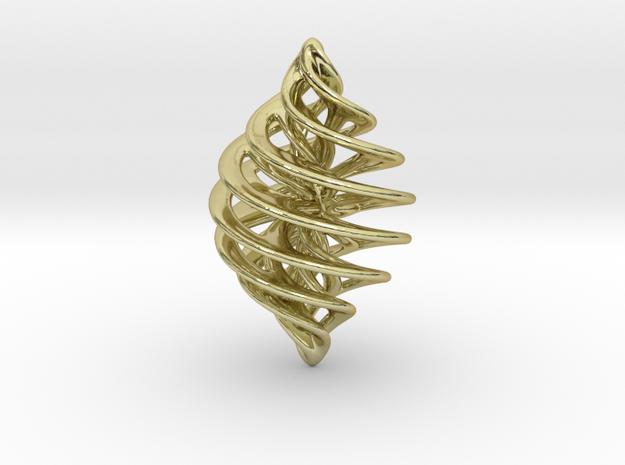Entanglement Bauble (mangled!) 3d printed