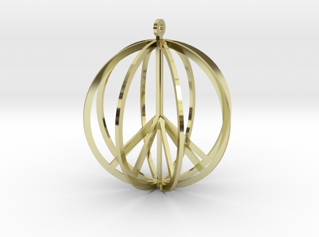 Global Peace 3d printed