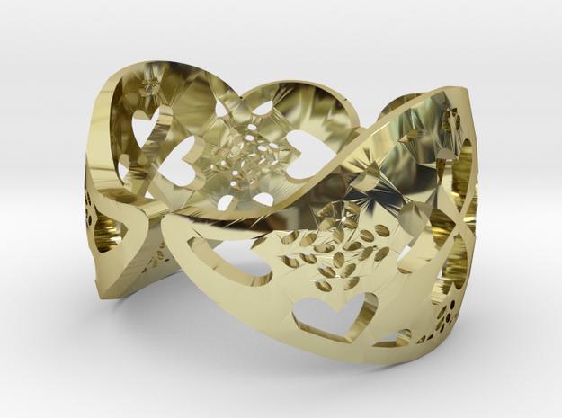 Ring Coracao Viana 3d printed