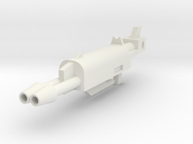 Skyfire Rifle WAH in White Natural Versatile Plastic