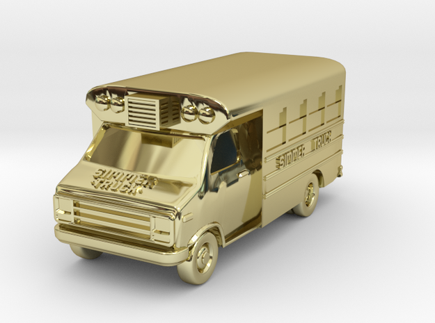 Simmer Milwaukee Food Truck Keychain 3d printed
