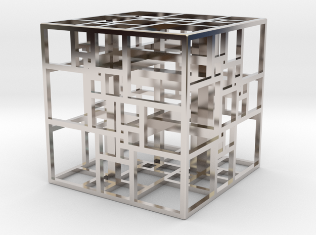 Triple SPSS Cube 28-408 (small) 3d printed