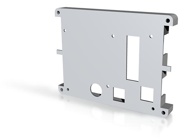 Backplate MLU 3d printed