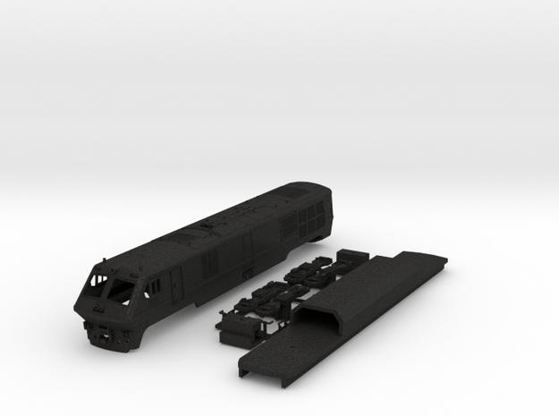 VIA / Amtrak LRC Loco (non powered end) N Scale 3d printed