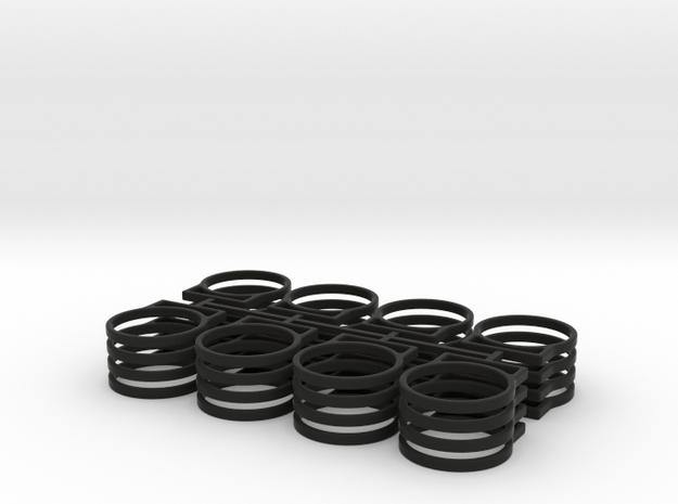 .5 TANK BRACKET X32 in Black Natural Versatile Plastic