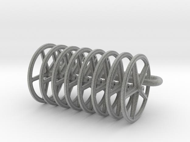20mm wheels, 8pcs 3d printed