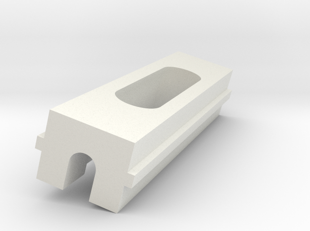 Xperia Magnetic Charging Dock (The Slider) in White Natural Versatile Plastic