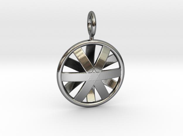 DOME STAR in Premium Silver