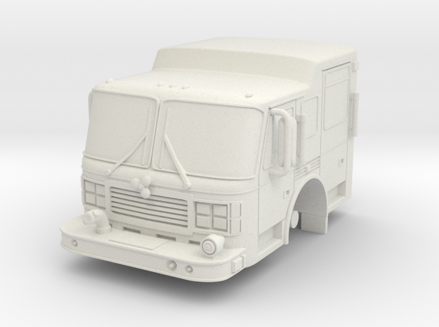 ~1/87 Alf Cab in White Natural Versatile Plastic
